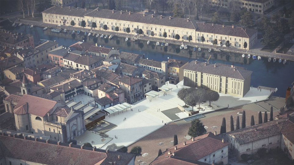 requalification of the square of peschiera del garda | italy | competition | FIRST PRICE
